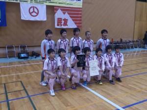 2014年度 郡山カップフットサル選手権福島県大会 準優勝