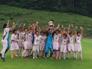 2015年度 JY 日本クラブユースU-15福島県大会 優勝
